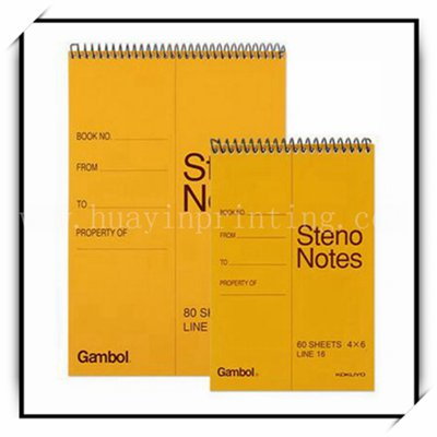 Cheapest Custom Spiral Notebook From China