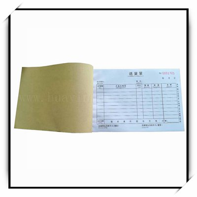 receipt book printing china