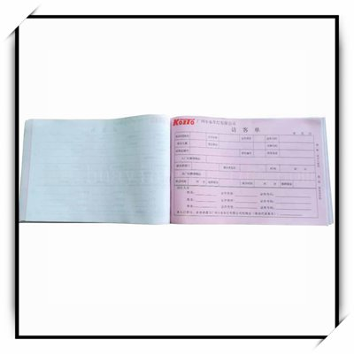China Factory Custom Invoice Book Printing