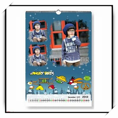 China Factory Custom Printed Calendars High Quality