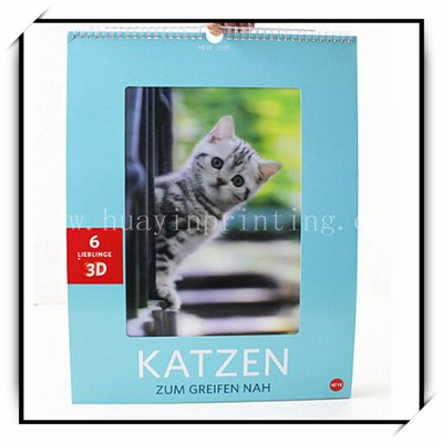 Factory Custom Photo Calendars With Good Quality