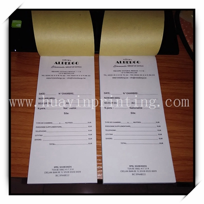 China Printer Supply Customized Receipt Books