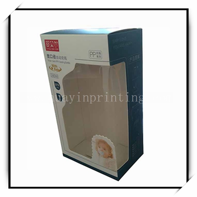 Custom Folding Paper Box With PVC Window