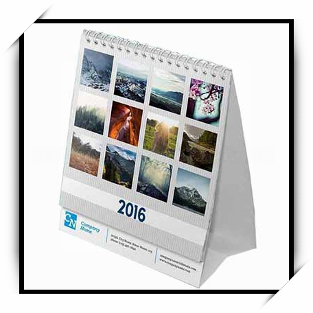 Factory Custom Printed Calendar Low Cost